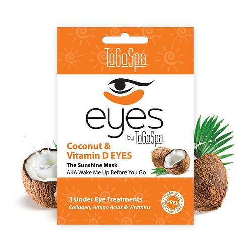 Coconut & Vitamin D Eyes by ToGoSpa