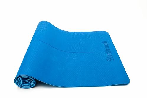 EcoStrength Blue Yoga Mat