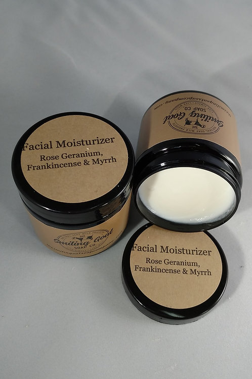 Facial Moisturizer by Smiling Goat