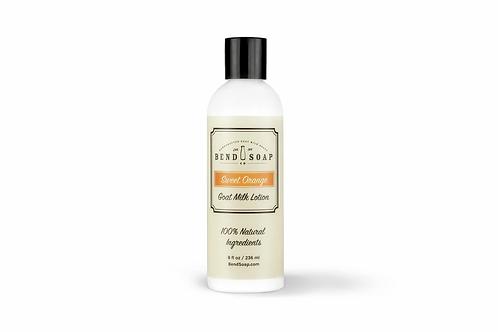 Sweet Orange Goat Milk Lotion (8oz) by Bend Soap
