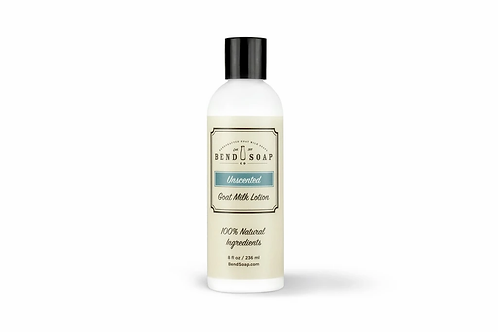 Unscented Goat Milk Lotion (8oz) by Bend Soap