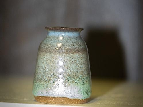 Bud Vase Blue/Brown