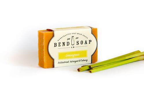 Lemongrass Goat Milk Soap (4.5 oz) by Bend Soap
