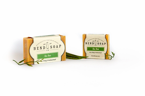 Tea Tree Goat Milk Soap Travel Size (1.5oz) by Bend Soap