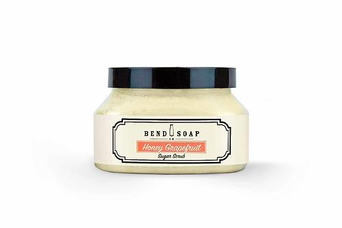Honey Grapefruit Sugar Scrub by Bend Soap