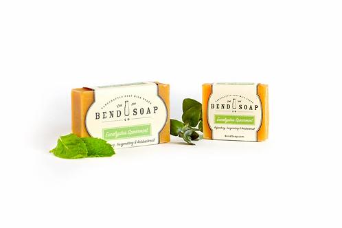 Eucalyptus Spearmint Goat Milk Soap Full Size (4.5oz) by Bend Soap