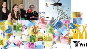Suomi nousuun, työttömyys alas ja velat maksuun – 10.000 euron rekrytointituella