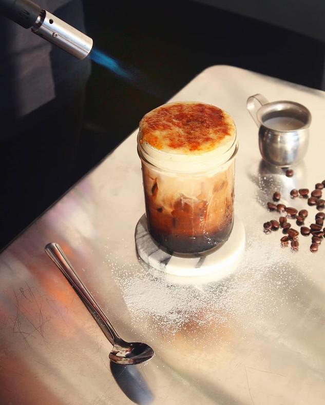 Creme Brulee Dessert Drink