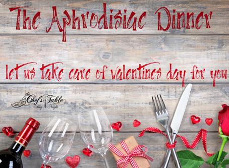 The Aphrodisiac Dinner 2020