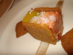 Foie Gras & Mango Gelee Terrine