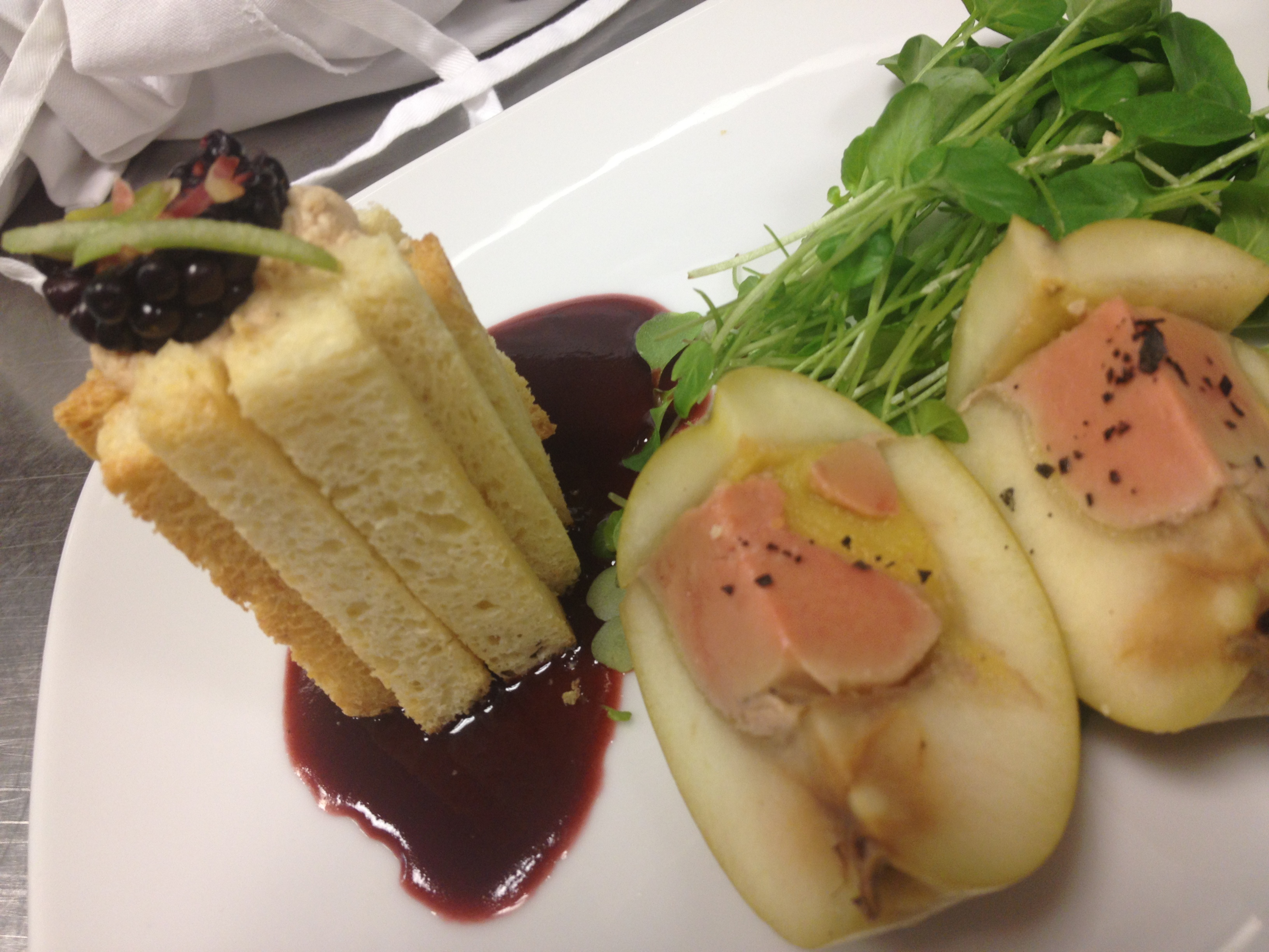Apple Terrine of Foie Gras