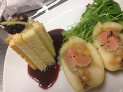 Apple Terrine of Foie Gras