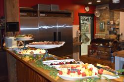 Reception-Style Menu on Kitchen Pass