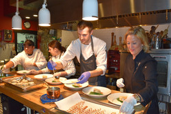 Plating in the Kitchen