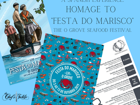 "A Spanish Experience: Homage to ""Festa do Marisco"""