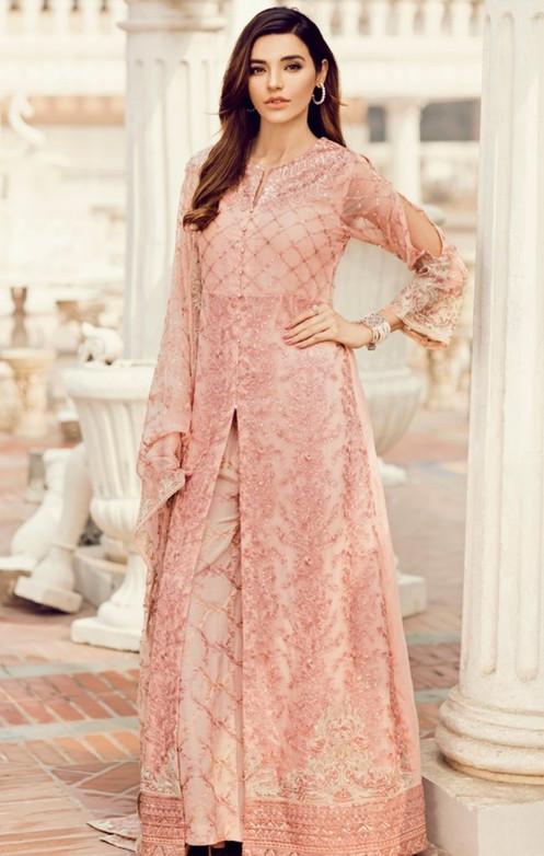 5fadf3ca7e Iznik embroidered chiffon dress 2019