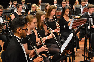 Bromley Youth Concert Band Clarinets.jpe