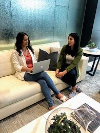 entrepreneur women collaborating