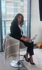 financial advisor woman working
