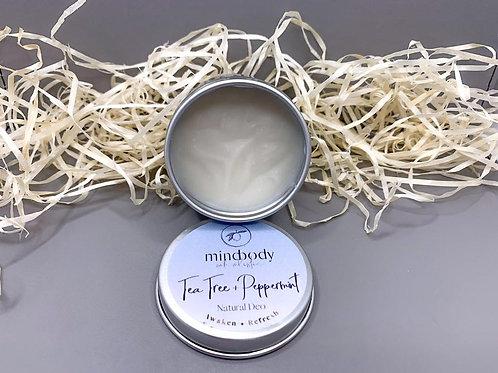 Tea Tree & Peppermint Natural Deodorant