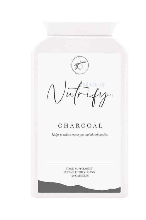 Activated Charcoal, 120 Capsules