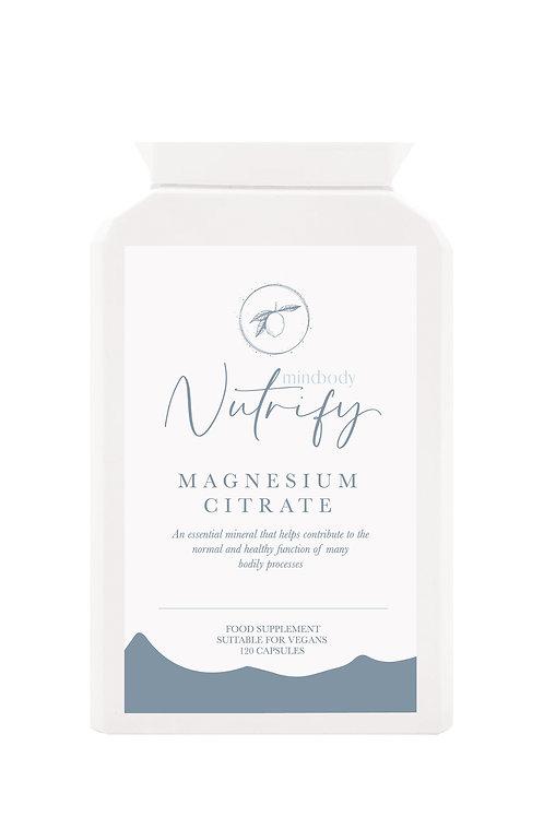 Magnesium Citrate, 120 Capsules