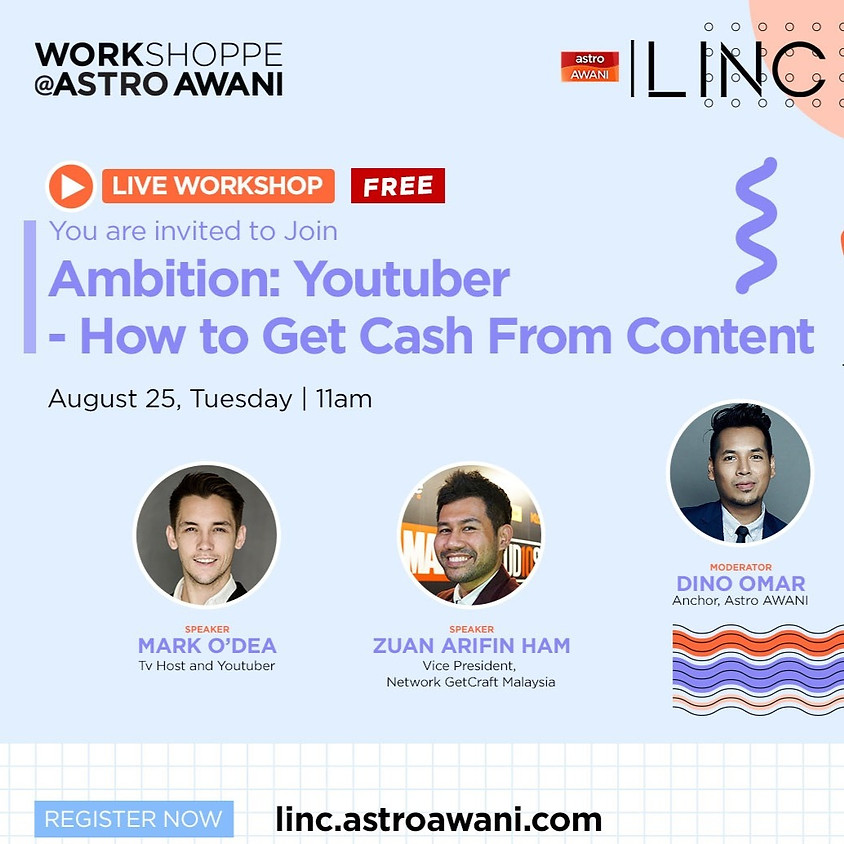 Ambition: Youtuber - How to Get Cash from Content?