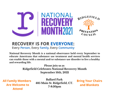 National Recovery Month is a national observance held every September to educate Americans
