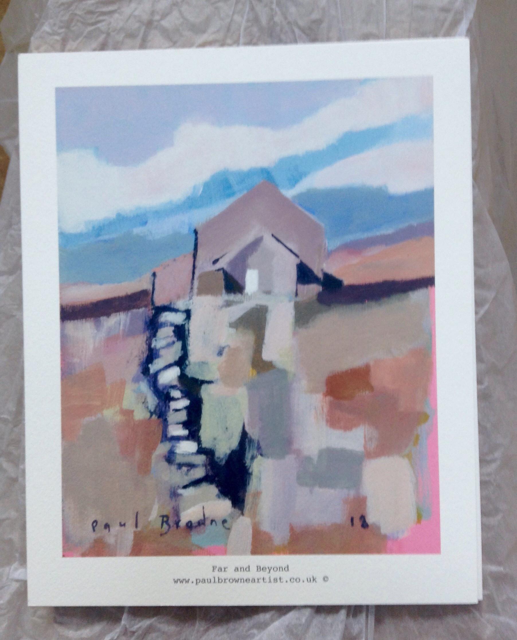 high quality giclee print | far & beyond | £60 | 30cm x 24cm