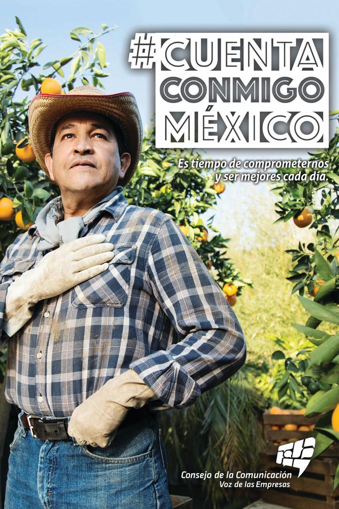 """Campaña """"Cuenta Conmigo México"""""""