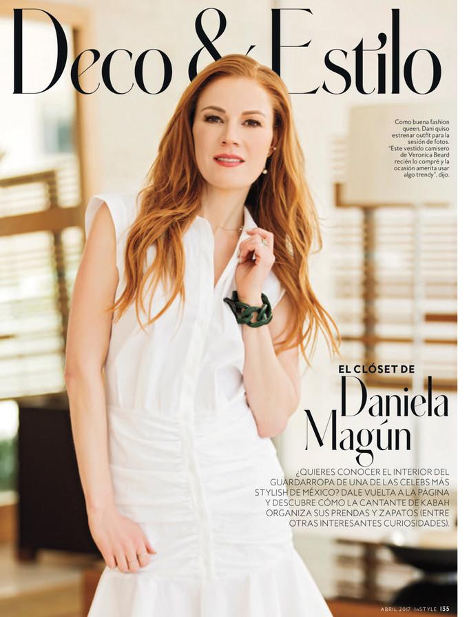 Daniela Magun para InStyle abril