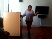 Mrs Mbali Sithole from the CINDI Network on child protection