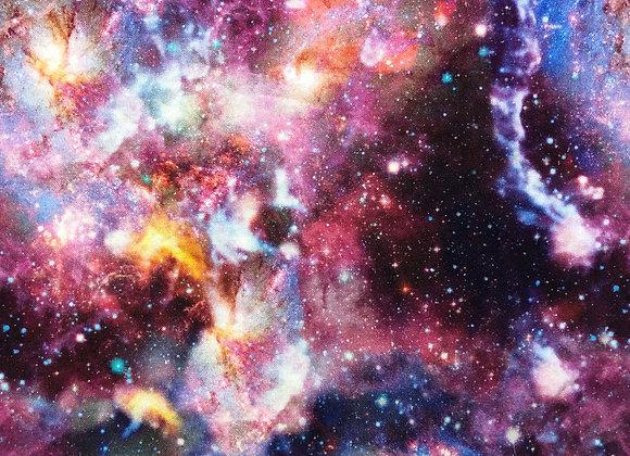 Cloth Face Mask - Purple Nebula