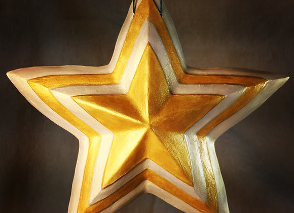 Concentric Star, Gold