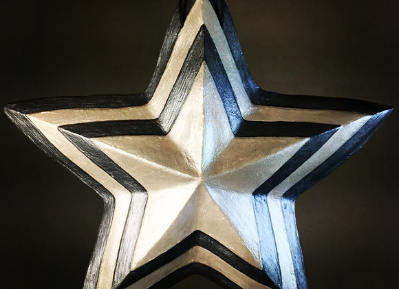 Concentric Star, Silver