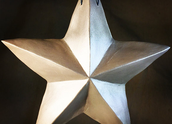 One-Sided Star, Light Silver