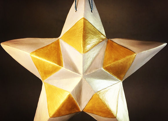 Kaleidoscope Star, Gold