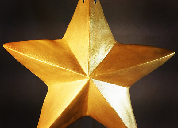 One-Sided Star, Yellow Gold