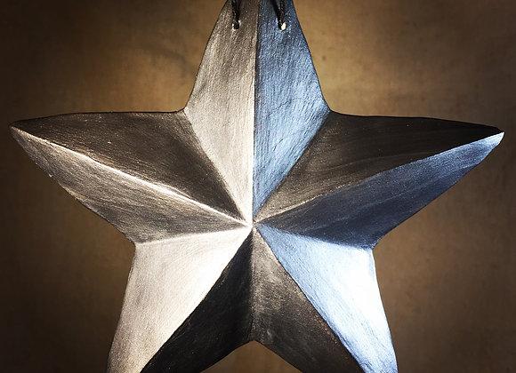 One-Sided Star, Dark Silver
