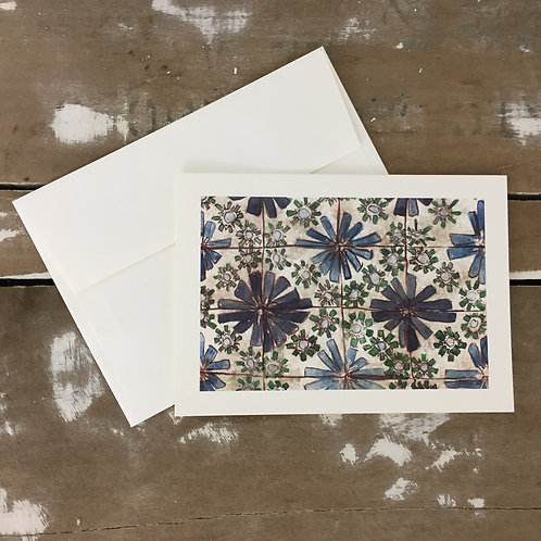 Watercolor Tile Cards