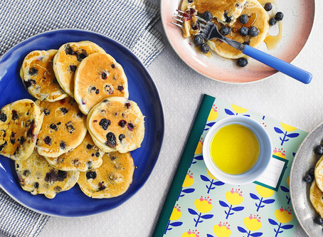 BLUEBERRIES PANCAKE