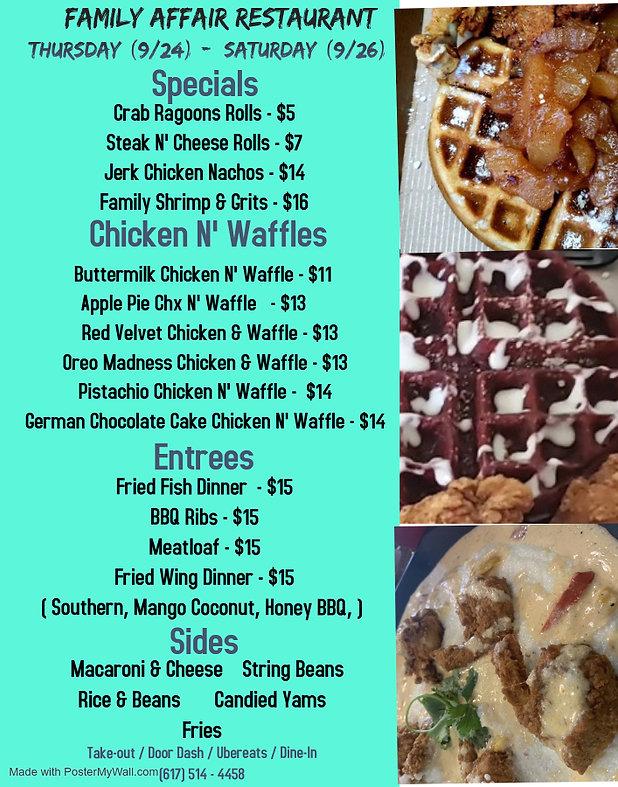 Copy of Cafe brunch menu - Made with Pos