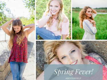 Spring Fever and Dreaming of Senior Sessions