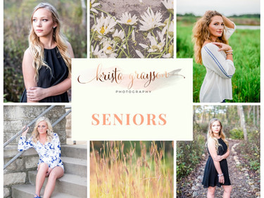 5 Tips for Styling your Senior Portrait Session!