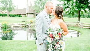 Kelsey & Jeremy - Fox Run Golf Course- St. Louis Wedding