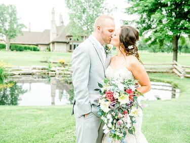Kelsey & Jeremy - Fox Run Golf Course- St. Louis Wedding