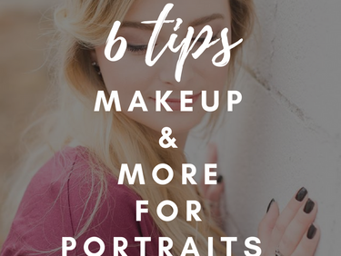 Makeup and More for Looking Your Best in Portraits