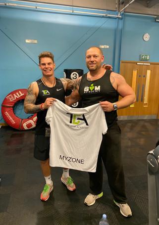 The Gym Academy Myzone winner