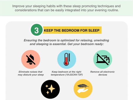 HOW TO SLEEP BETTER PART 3