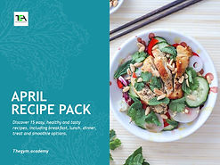 April Recipe Pack